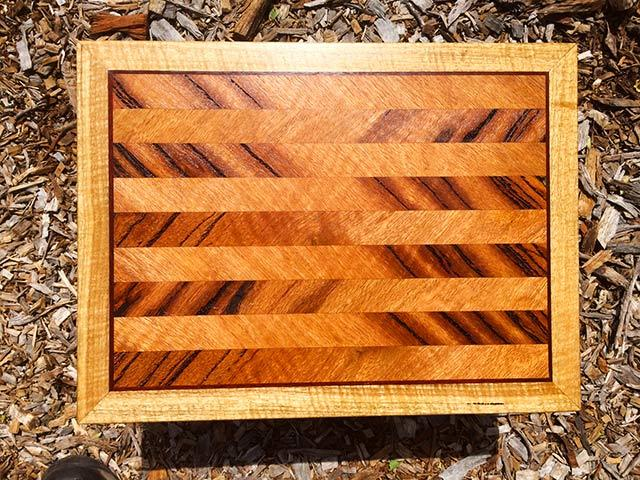 recycled reclaimed salvaged Marri chopping board perth WA