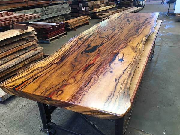 recycled reclaimed salvaged Marri slabs perth WA
