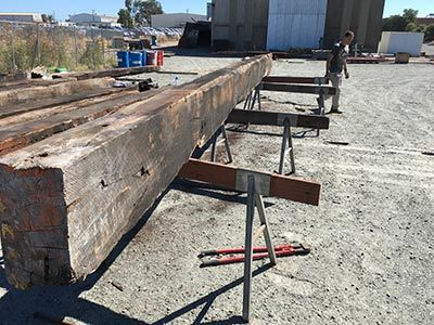 recycled reclaimed salvaged posts and beams perth wa