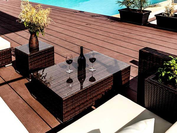 Recycled reclaimed jarrah decking timber perth