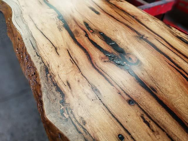 recycled reclaimed marri slabs timber perth
