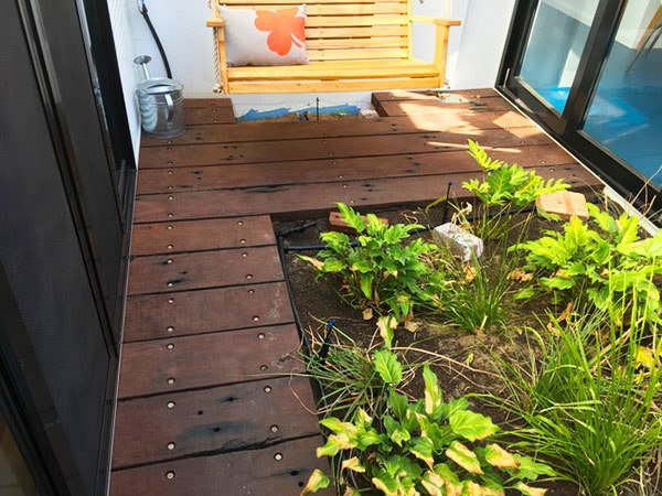 recycled reclaimed salvaged wandoo timber decking perth wa